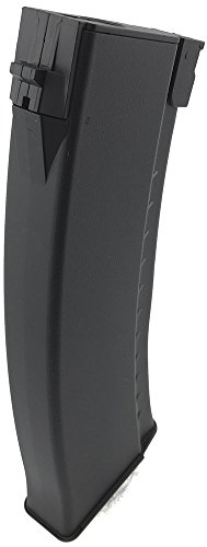 SportPro  5 SportPro CYMA 150 Round Polymer Medium Capacity Magazine for AEG AK 3 Pack Airsoft - Black
