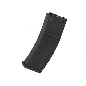 LONEX Airsoft Gun Magazine 1 Lonex AIRSOFT M4 M16 SCAR PLASTIC BLACK FLASH PMAG MAGAZINE 360RDS ASG PULL CORD