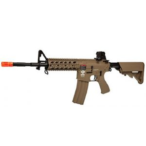 G&G Airsoft Rifle 1 G&G CM16 Raider Long Barrel Airsoft (Tan)
