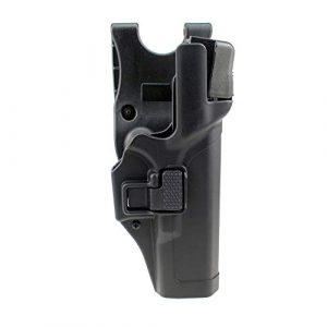 PG Airsoft Gun Holster 1 PG Tactical Holster Military Concealment Level 3 Right Hand Waist Belt Gun Pistol Holster for Gk 17 19