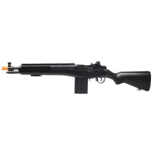 Electric Airsoft Rifle 3 enhanced 2012 full auto electric fps-330 m14 aeg fully automatic and semi automatic airsoft electric gun w/ rail system! 34 inches long! free high capacity magazine, ready to go right out of the box!(Airsoft Gun)