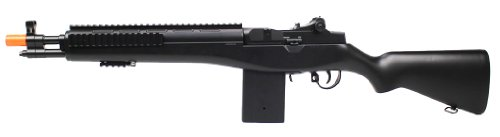 Electric  2 enhanced 2012 full auto electric fps-330 m14 aeg fully automatic and semi automatic airsoft electric gun w/ rail system! 34 inches long! free high capacity magazine