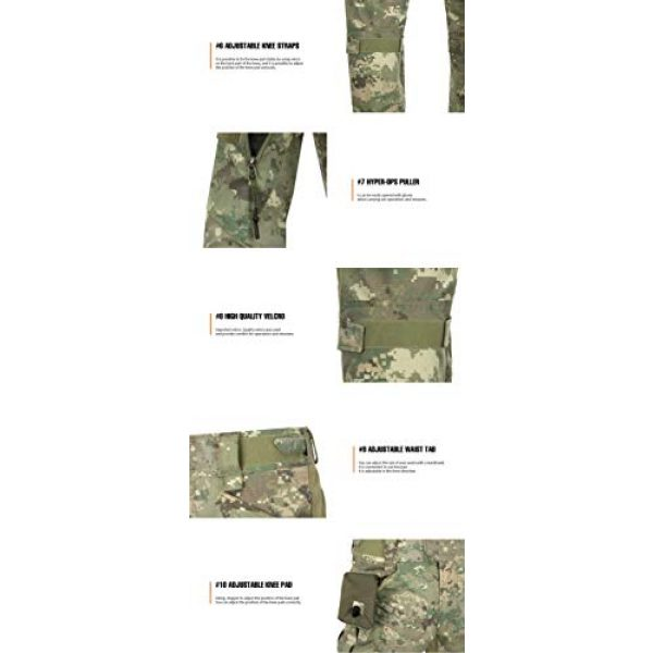 HYPEROPS Tactical Pant 6 PANO-Combat Pants/Alpha/Hyper ARID