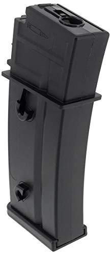 SportPro  2 SportPro Army Force 470 Round Polymer High Capacity Magazine for AEG G36 Airsoft - Black