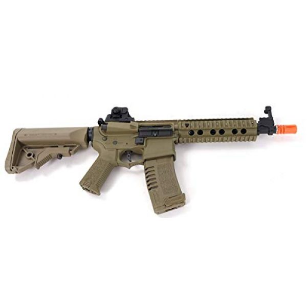 Elite Force Airsoft Rifle 4 Elite Force Ares Amoeba AM-008 AEG Gen.5 Airsoft Rifle in Tan