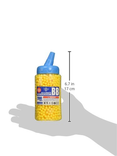BBTac Airsoft BB 2 BBTac 8000 Perfect Grade BB 0.12g Polished for Best Accuracy and Velocity on Airsoft Gun