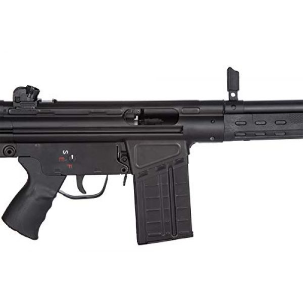 Lancer Tactical Airsoft Rifle 7 Lancer Tactical LCT Stamped Steel Full Stock LC-3A3-S Airsoft AEG Rifle Black
