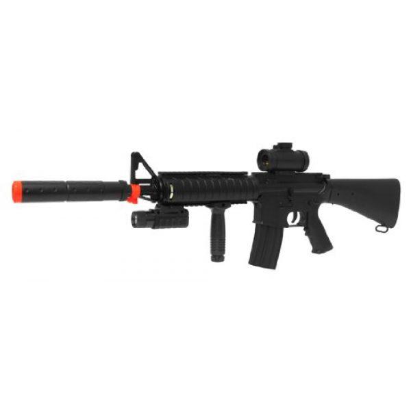 Double Eagle Airsoft Rifle 1 Electric Double Eagle Silenced m83b1 Tactical m4 Assault Rifle fps-200 Airsoft Gun(Airsoft Gun)