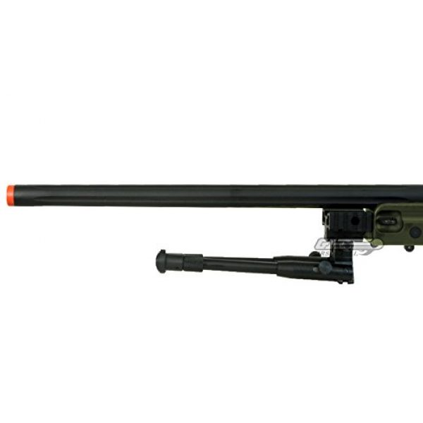 Bravo! Airsoft Rifle 6 Bravo Full Metal MK98 Bolt Action Sniper Rifle (OD/Bipod Package)