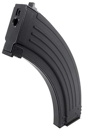 SportPro  3 SportPro 200 Round Metal RPK Medium Capacity Magazine for AEG AK47 AK74 Airsoft - Black