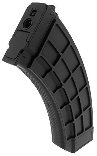 SportPro  3 SportPro 520 Round Polymer Thermold Waffle High Capacity Magazine for AEG AK47 AK74 Airsoft - Black