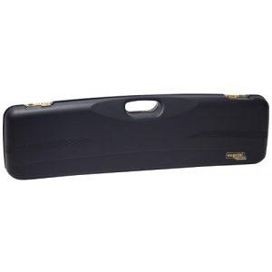 Negrini Cases Rifle Case 1 Negrini Cases 1605IS/4790 Shotgun Case for O/U SXS/PP/1 Gun/1 Barrel up to 31 1/4-Inch, Blue/Blue