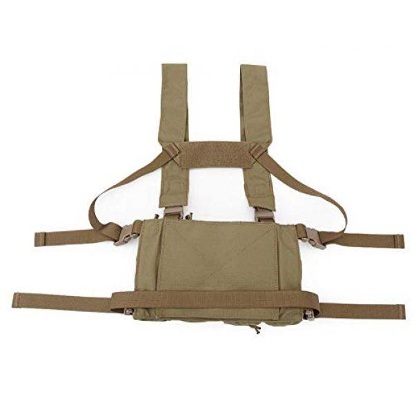 Jadedragon Airsoft Tactical Vest 6 Jadedragon Tactical CS Field Vest Adjustable Ultra-Light Breathable Chest Rig Outdoor Training Vest
