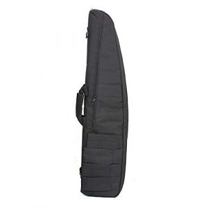 """Yamcyh  1 Yamcyh 39""""/47"""" Outdoor Military Carry Nylon Case Hunting Airsoft Tactical Rifle Gun Bag Heavy Duty Hunting Shotgun Case Carrying Military Shoot Soft Bag (Black"""