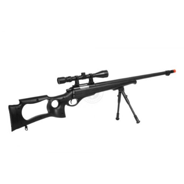 Well Airsoft Rifle 5 wellfire mb10d bolt action sniper rifle w/ 3-9x40 scope and bipod(Airsoft Gun)