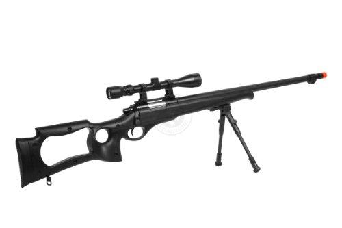 Well  5 wellfire mb10d bolt action sniper rifle w/ 3-9x40 scope and bipod(Airsoft Gun)