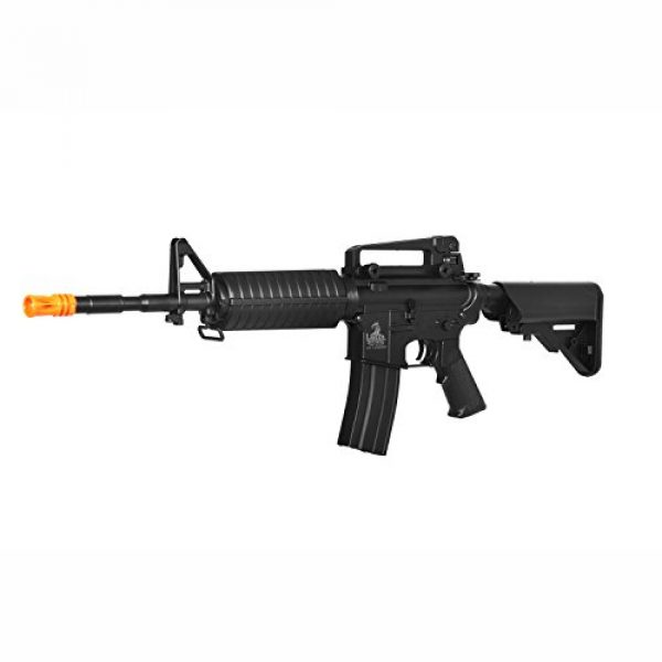 Lancer Tactical Airsoft Rifle 1 lancer tactical lt-03b m4 electric airsoft gun metal gear fps-400(Airsoft Gun)