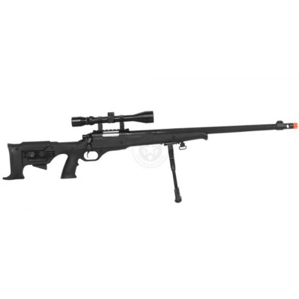 Airgunplace Airsoft Rifle 4 wellfire mb11d full metal bolt action sniper rifle w/ scope and bipod(Airsoft Gun)