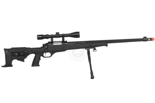 Airgunplace  4 wellfire mb11d full metal bolt action sniper rifle w/ scope and bipod(Airsoft Gun)