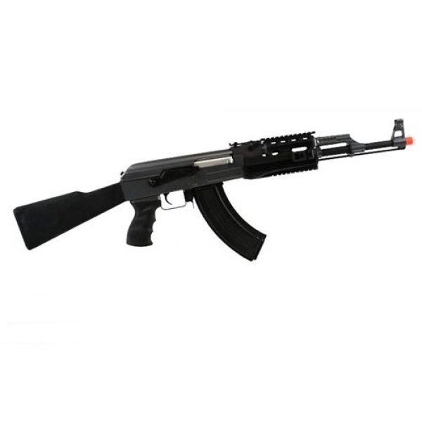 BBTac Airsoft Rifle 2 BBTac BT-AK Tactical RIS AEG w/ Integrated Rail System, Full Metal Gearbox (BLACK)