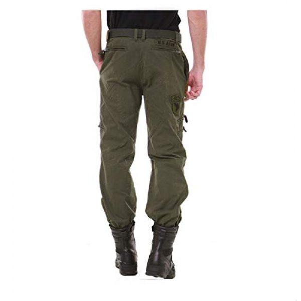 sunsnow Tactical Pant 3 Men's Tactical Pants Outdoor Workout Cargo Pants Men Rip-Stop Work Pants for Men with Multiple-Pockets