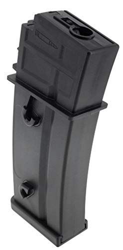 SportPro  2 SportPro Army Force 150 Round Polymer Medium Capacity Magazine for AEG G36 Airsoft - Black