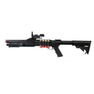 UKARMS Airsoft Shotgun 1 UKARMS Tactical Specialist RIS Spring Airsoft Shotgun FPS-320 w/Accessories