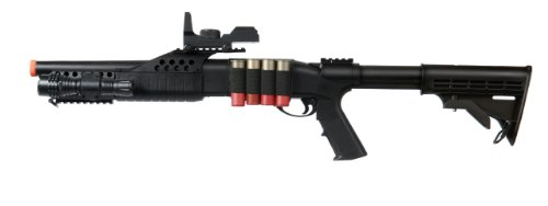 UKARMS  1 UKARMS Tactical Specialist RIS Spring Airsoft Shotgun FPS-320 w/Accessories