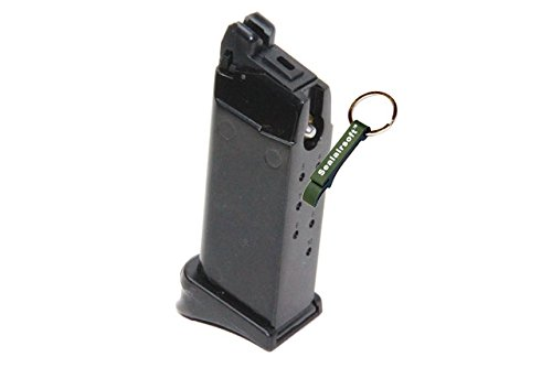 KJW  2 KJ Works 15rds Airsoft Metal 6mm Gas Magazine For G27 GBB Series -Mobile Ring Included
