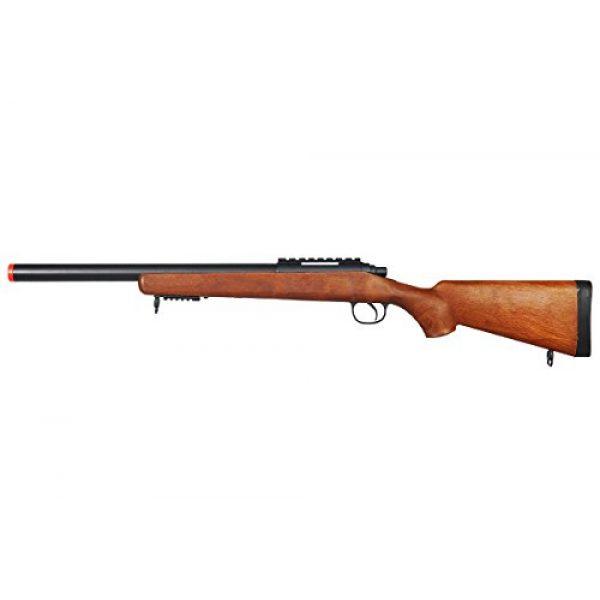 Well Airsoft Rifle 1 Well Full Metal MBG24 Gas Sniper Rifle Airsoft Gun (Fake Wood)