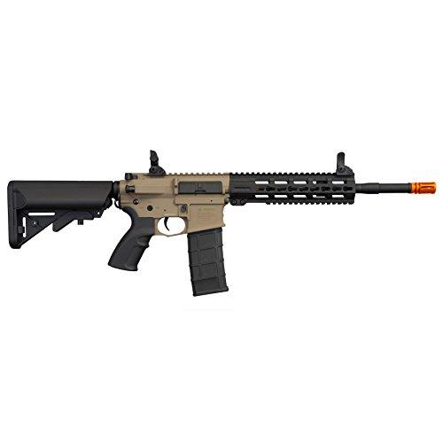 Tippmann Airsoft  4 Tippmann Tactical Commando AEG Carbine 14.5in Airsoft Rifle Tan