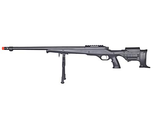 Well  1 Well MB11 Airsoft Sniper Rifle W/Bipod - Black