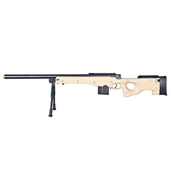 Well Airsoft Rifle 1 Well MB4401 Airsoft Sniper Rifle W/Bopid - Tan
