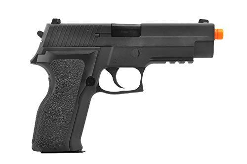 Lancer Tactical  2 Lancer Tactical WE Tech F226 E2 MK25 Gas Blowback GBB Airsoft Pistol Black 340 FPS