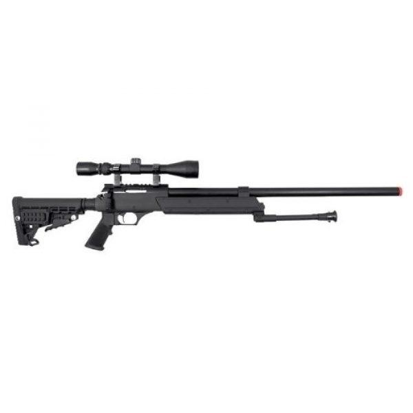 A.S.A.R. Airsoft Rifle 2 well asr heavy single bolt action spring sniper airsoft rifle(Airsoft Gun)