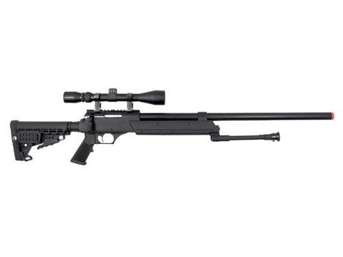 A.S.A.R.  2 well asr heavy single bolt action spring sniper airsoft rifle(Airsoft Gun)