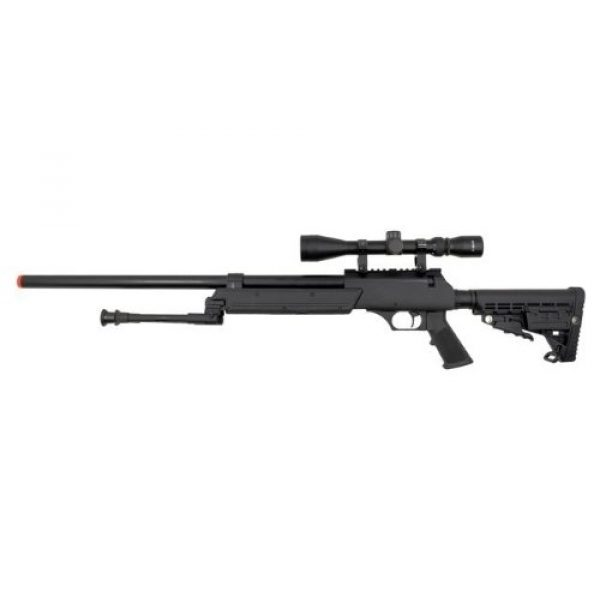 A.S.A.R. Airsoft Rifle 4 well asr heavy single bolt action spring sniper airsoft rifle(Airsoft Gun)