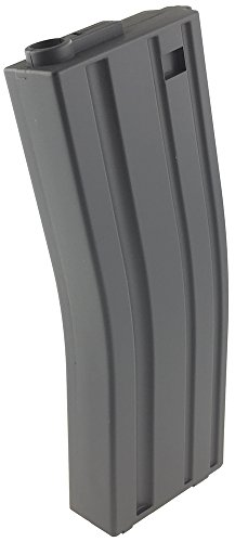 SportPro  3 SportPro 140 Round Metal Medium Capacity Magazine for AEG M4 M16 Airsoft - Gray