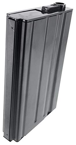 SportPro  5 SportPro 420 Round Metal High Capacity Magazine for AEG SR25 Airsoft - Black