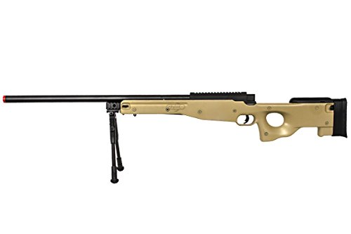 Well Airsoft Rifle 5 Well Airgunplace Type 96 AWP Bolt Action Airsoft Tan Color Sniper Rifle