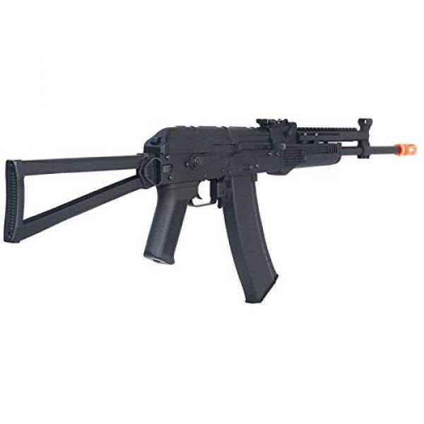 Lancer Tactical Airsoft Rifle 2 Lancer Tactical LT-740J AEG Full Metal Rifle with Gas Block Rail Black