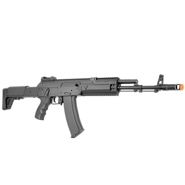 BBTac Airsoft Rifle 6 BBTac AK-47 Airsoft Gun, Electric Airsoft Assault Rifle Fully Automatic AEG with Battery & Charger, Magazine, Shoots 6mm Airsoft Pellets