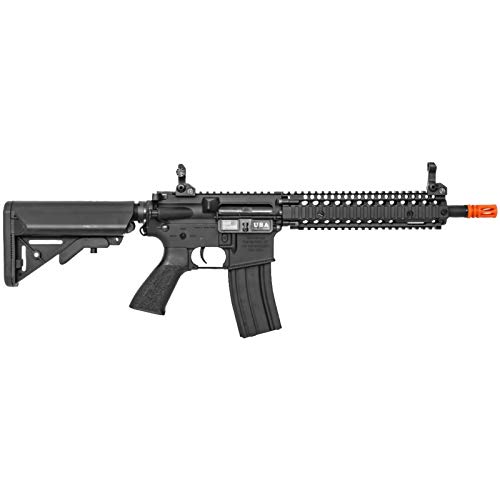 Lancer Tactical  2 Lancer Tactical Classic Army Nemesis CA117M M4 Carbine Airsoft AEG Rifle Black 400 FPS
