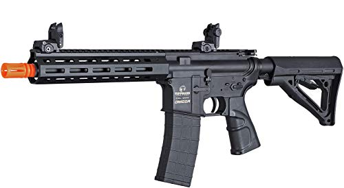 Tippmann Airsoft  2 Tippmann Omega CQB - 12-Gram Airsoft Rifle - Black