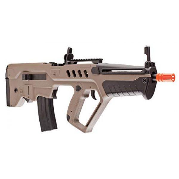 Elite Force Airsoft Rifle 4 Elite Force IWI Tavor AEG 6mm BB Rifle Airsoft Gun, Dark Earth Brown, Tavor 21 (Competition Series), One Size (2278051)