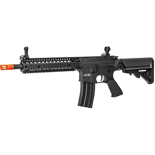 Lancer Tactical  3 Lancer Tactical Classic Army Nemesis CA117M M4 Carbine Airsoft AEG Rifle Black 400 FPS