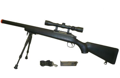 Well  1 Well VSR-10 Spring Airsoft Sniper Rifle