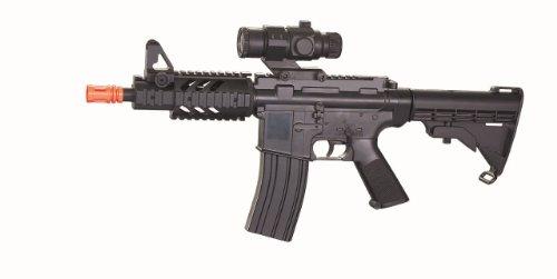 Well  1 Well cqb m4 ris aeg electric rifle fps-250 collapsible stock airsoft gun(Airsoft Gun)
