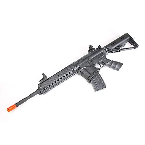 BULLDOG AIRSOFT  4 Bulldog ST Delta L QD Airsoft Electric Gun AEG Rifle - Sportsline CQB Pro Series