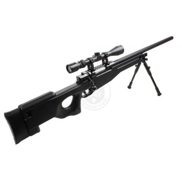 Well Airsoft Rifle 5 Wellfire mk96 bolt action awp sniper rifle w/ 3-9x40 scope and bipod(Airsoft Gun)